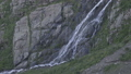 Waterfall in mountain. Nature landscape background. Ecology concept. Slow motion 57072358