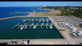 4K-Yacht Harbor Aerial Video 57155856