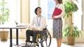 Wheelchair business meeting 57287274