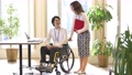 Wheelchair business office 57365201