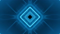 Beautiful Abstract Square Tunnel with Neon Light Lines Moving Fast. Blue Bright Colors. Background 57484225