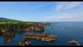 4K-藍色海和岩石美好的風景 57512592