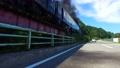 磐越西線SLばんえつ物語号を走行するバイクから撮影 57556814