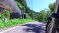 磐越西線SLばんえつ物語号を走行するバイクから撮影 57556815