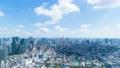 東京風景 ワイド タイムラプス 4k 東京タワーと街並み Spt.2019年 ズームアウト 57676759