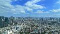 東京ランドスケイプ 快晴の都市風景 センターに東京タワー ワイド タイムラプス フィックス 57736082