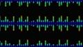 소리 음성 단순 파형 무지개색 디지털 다채로운 루프 57773825