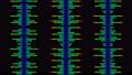소리 음성 단순 파형 무지개색 디지털 다채로운 루프 57773827