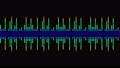 소리 음성 단순 파형 무지개색 디지털 다채로운 루프 57773828