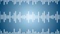 소리 음성 단순 파형 파란색 디지털 비즈니스 루프 57773846