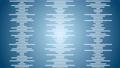 소리 음성 단순 파형 파란색 디지털 비즈니스 루프 57773851