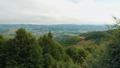 Aerial view Carpathian mountain landscape 57783736
