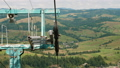 Cableway support in the Carpathian mountains 57783738