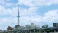 東京の観光スポット スカイツリーと雲 4K対応 57814657