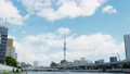 Tokyo sightseeing spot Sky Tree and Clouds 4K compatible 57814659