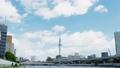 東京の観光スポット スカイツリーと雲 4K対応 57814659