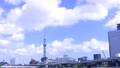 Tokyo sightseeing spot Sky Tree and Clouds 4K compatible 57814660