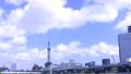 東京の観光スポット スカイツリーと雲 4K対応 57814660