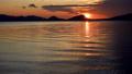 支笏湖 日の出(フィクス撮影) 57832040