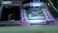 Electronic circuit board production. Automated Circut Board machine Produces Printed digital 57944086