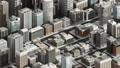 3D dimension Smart city, Building concept. 4K size movie. 57975708