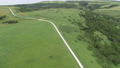 Soya Hill White Road Drone Aerial View 17 58047250