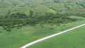 Soya Hill White Road Drone Aerial View 10 58047257