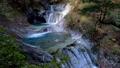 秋の西沢渓谷・七ツ釜五段の滝(チルトアップ・ズームイン) 58104794
