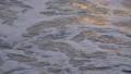 夕方の浜に打ち寄せる波のスローモーション(沼津市千本浜) 58143021