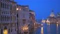 View of Venice Grand Canal and Santa Maria della Salute church in the evening 58471500