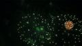 Real Fireworks on Black Sky 58543846