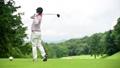 ゴルフ ドライバーショット 58552017