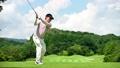 ゴルフ ドライバーショット 58552022