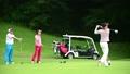 ゴルフ ドライバーショット 58552028