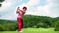 ゴルフ ドライバーショット 58552029