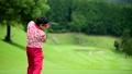 ゴルフ ドライバーショット 58552030
