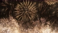 4K - Holiday celebrations. Highly detailed final part of fireworks 58604119