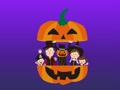 Family appearance from Halloween pumpkin 58626603