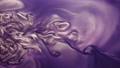 paint flow glitter cloud purple liquid ink motion 58728696