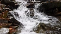 Close-up of a waterfall in a autumn forest 58741186