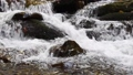 Close-up of a waterfall in a autumn forest 58741194