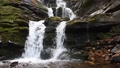 Close-up of a waterfall in a autumn forest 58741195