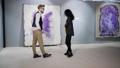Art critics in picture gallery 58846860