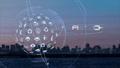 VR 5G AI 人工知能 フィンテック Fintech MaaS ICT ブロックチェーン 3D 58973883
