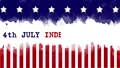 4 July Independence Day with USA flag background 59065620