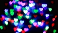 colorful hearts bokeh , abstract background 59065625
