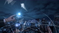 VR 5G AI 人工知能 フィンテック Fintech MaaS ICT ブロックチェーン 3D 59191338