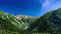 タイムラプス 長野 上高地 穂高 穂高岳 山 昼 川 高原 山林 北アルプス 山岳 4k 59610660