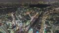 タイムラプス 渋谷スカイ 新宿 渋谷 夜空 都心 渋谷スクランブスクエア 4k スクランブル交差点 59625220