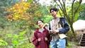 Couple trekking mountaineering outdoor image 59722130